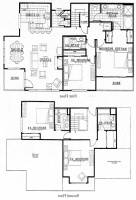 Floorplan View (mirrored to reflect actual unit layout) - 4br 4ba Keystone Condo Rental by Owner Vacation Rentals at The Gateway Mountain Lodge in River Run at the Keystone Resort, Colorado, Summit County Lodging. Highway 6.  Discounts available